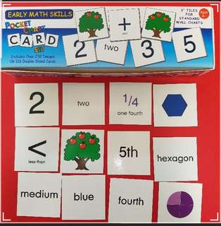 Smethport pocket sight words - Maths