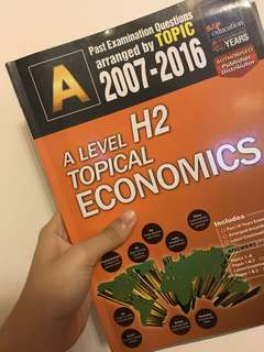 [NEW] A Level H2 Topical Economics