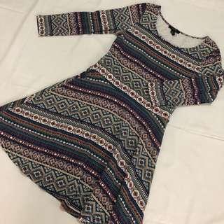F21 Aztec Dress