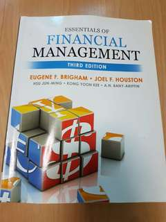 AB1201 Essentials of Financial Management (3rd Edition)