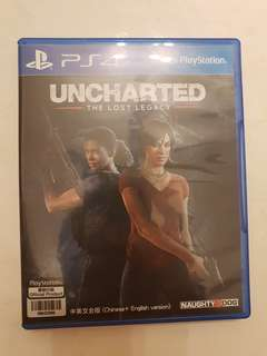 Uncharted - The Lost Legacy (Chinese + English version) - PlayStation 4