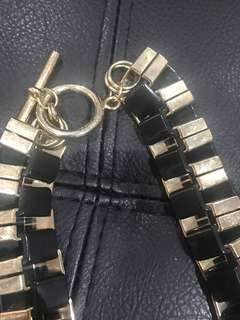 Mimco Black and Gold necklace