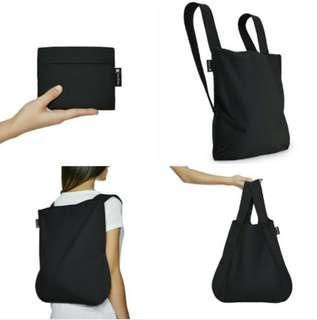 🚚 Notabag recycle backpack sling bag tote free post