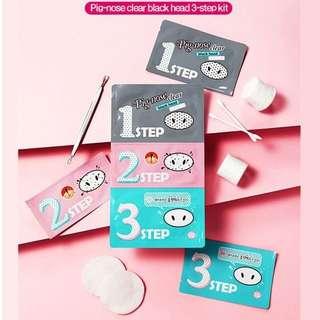 HOLIKA HOLIKA Pig Clear Blackhead 3 Step Kit