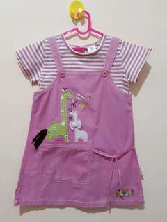 "Dress Overall ""little m - 4 y"""