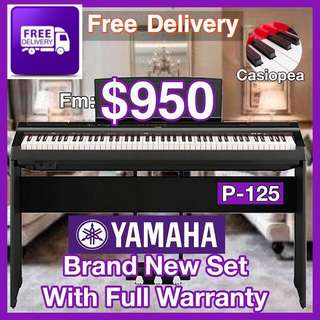 Brand New Yamaha P-125 Digital Piano With Warranty