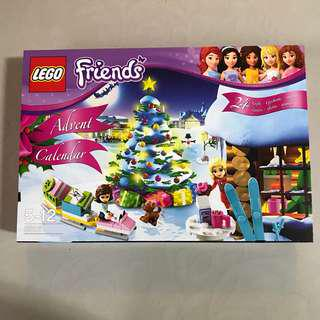 Lego 3316 friends advent calendar 2012