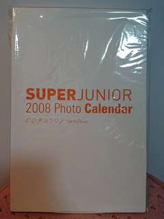 Super junior 2008 年月曆
