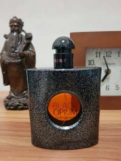 Parfum original YSL black opium 90ml sisa 90%