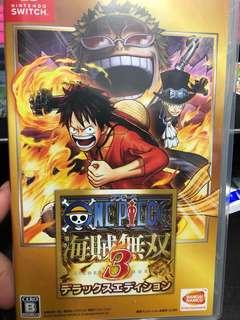 🚚 One Piece Pirates Warriors 3 Jap ver