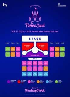 Twice ticket