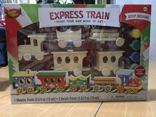 Express Train (paint your own work of art)