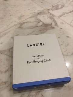 Eyes sleeping mask - special care