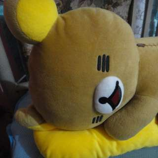 Cute Stuff toys from Japan a Rilakkuma with pillow