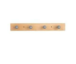 Ikea wooden /stainless steel hook, grundtal door hangers