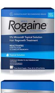 🚚 Men's ROGAINE one month supply