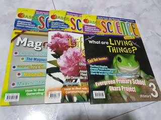 Casco Science Magazine (All 3 books)