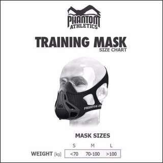 InStock (Free Carrying Case) IPPT Training Mask Acclimatize Altitude Running Gym Workout Fitness Crossfit