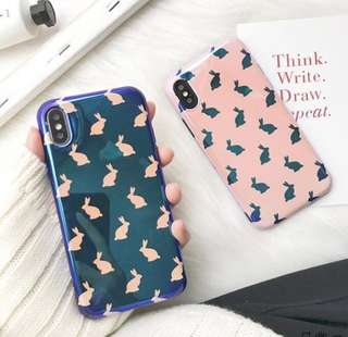Bunny Blue Ray Case Iphone X