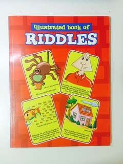 Illustrated book of riddles
