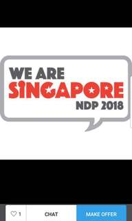 Trade a pair of NDP Preview 1 tickets for a pair of actual day tickets.