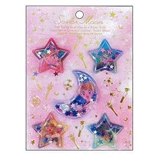 美少女戰士宇宙紀念文具膠囊貼紙-moon
