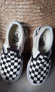 Preloved Vans Checkerboard (toddler)