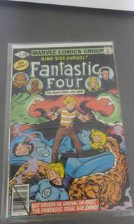 Fantastic Four Annuals Marvel comics