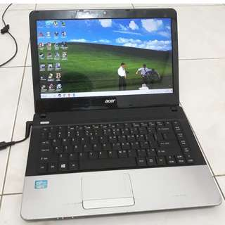 jual Laptop bekas ACER Aspire E1-471
