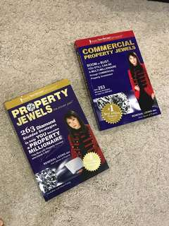 (BN) 2 books - Property jewels & Commercial Property Jewels by Renesial Leong