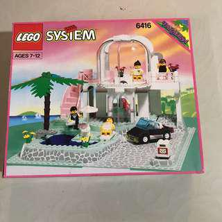 Lego 6416 poolside paradise from paradisa - 100% complete