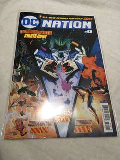 Dc nation 0 (first appearance Robinson Goode and omega Titans )