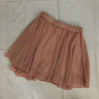 Old Rose Palda-Shorts