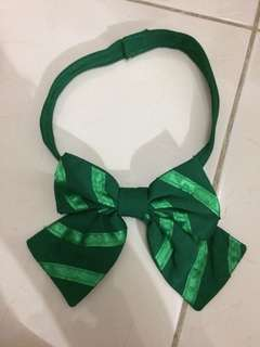 Ribbon Tie Uniform - Green