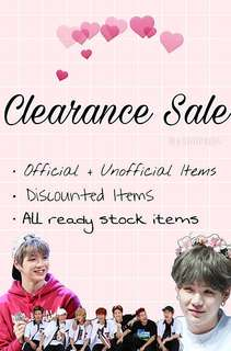 Clearance Sale ✨