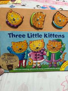Three Little Kittens (99% new)