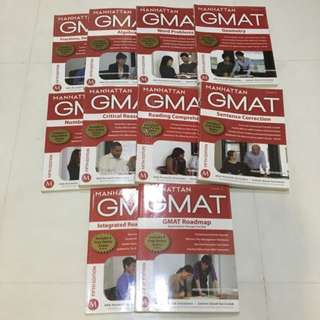 Manhattan GMAT 5th Edition FULL SET