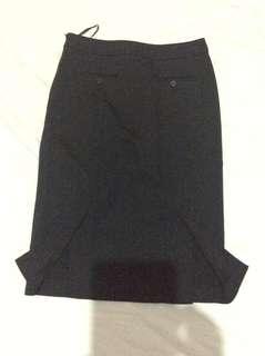 Preloved SportsGirl Black Skirt
