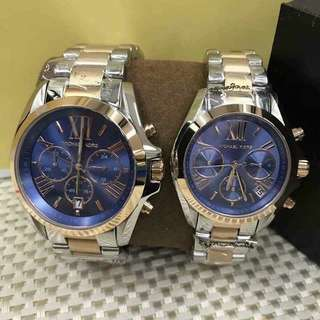 MK COUPLE AUTHENTIC WATCH