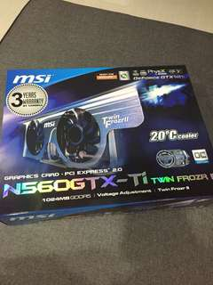 MSI Graphic Card PCI Express 2.0 (SPOILT!)