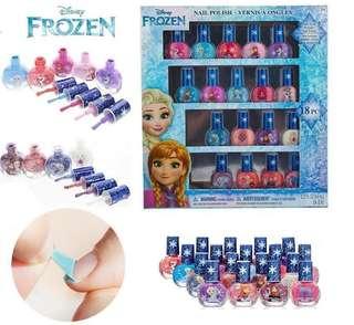 美國🇺🇸Disney 兒童指甲油 18支 Frozen