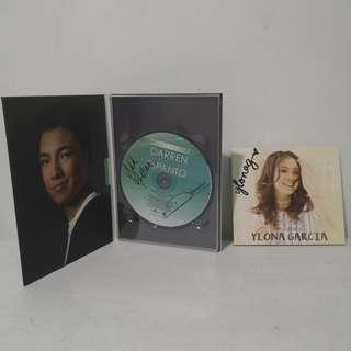 Signed albums of Darren Espanto & Ylona Garcia