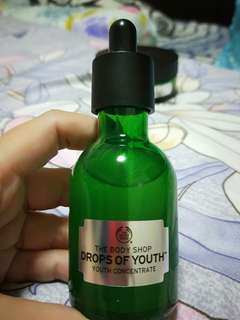 The Body Shop Drops Of Youth Concentrate and Sleeping Mask