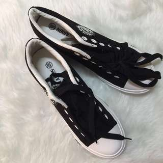 Black Sneakers Shoes