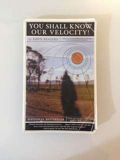 Dave Eggers - You Shall Know Our Velocity!