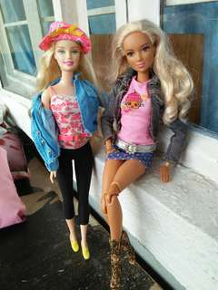 Barbie set of clothes ootd