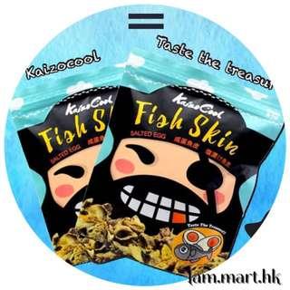新加坡 Kaizocool 海盜鹹蛋魚皮