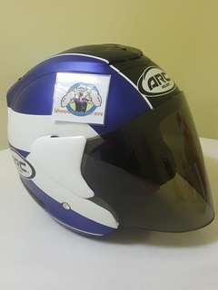 0807👀👁 ARC AR1 TIARA MATT BLUE v Tinted Visor Helmet For Sale 😁😁Thanks To All My Buyer Support 🐇🐇 Yamaha, Honda, Suzuki