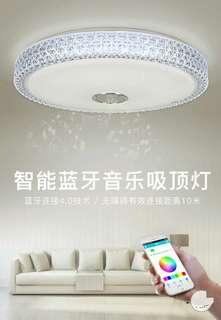 LED Ceiling Light smart bluetooth music light