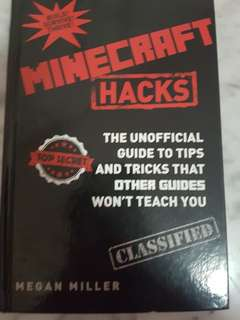 Minecraft hacks book